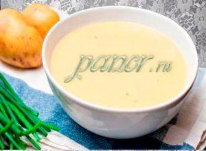 Суп картофельный диетический