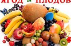 Блюда из ягод и фруктов